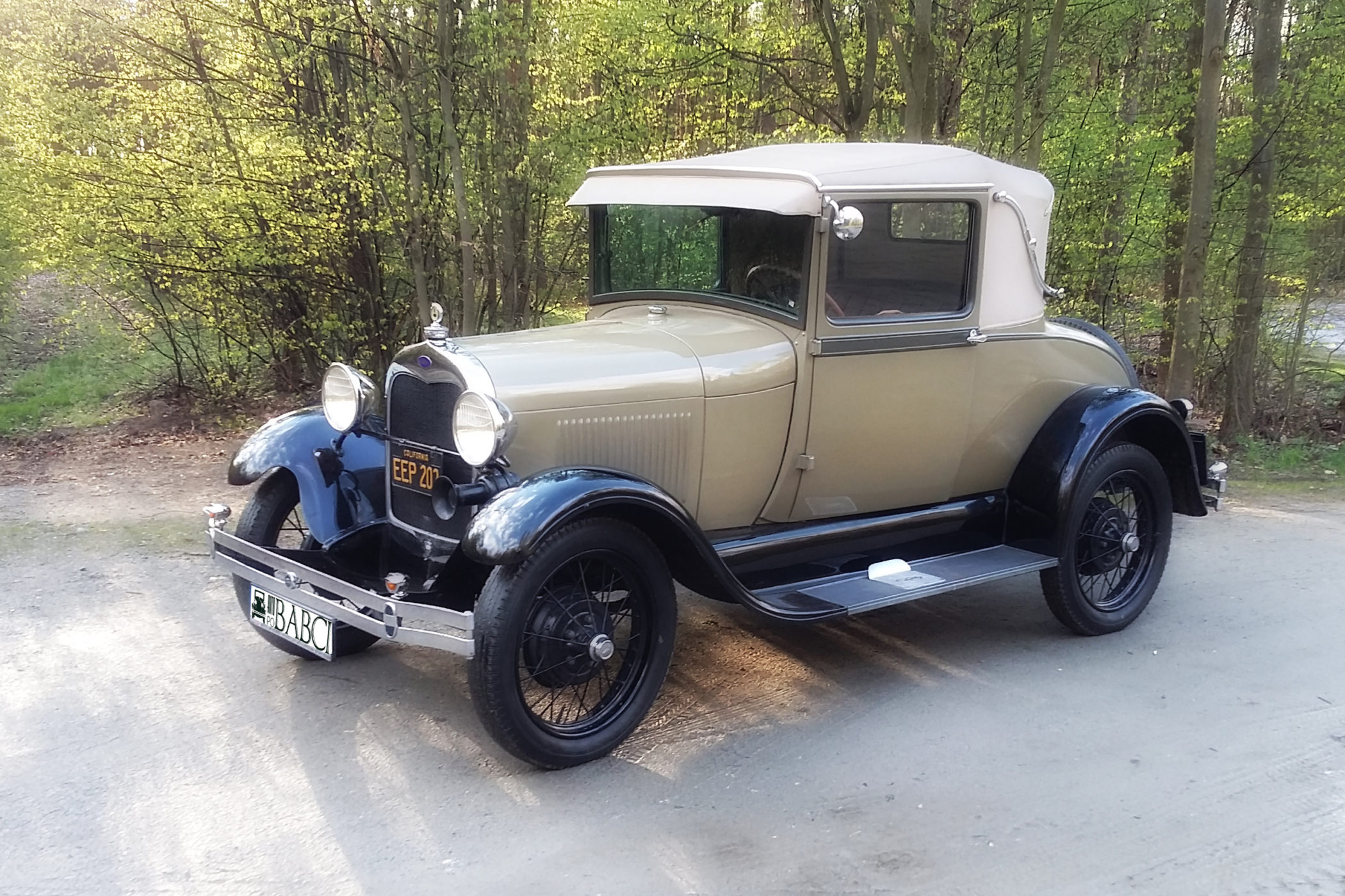 FORD A SPORT COUPE startowe-2
